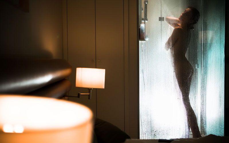 Faire l'amour sous la douche