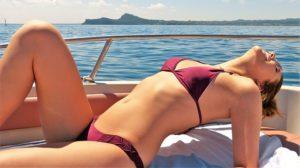 libertinage sur un bateau