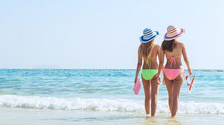 surprise à la plage